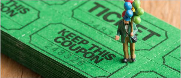 駐車サービス券発行のイメージ写真